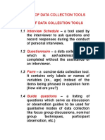 Lecture 4c_Development of Data Collection Tools