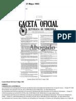 Gaceta Oficial 35216 del 21 Mayo 1993.pdf