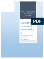 Prueba Interna de Matematicas_2A