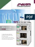 HPLC System S500 Web