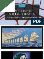 Hermeneutics Phenomenology