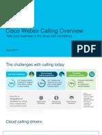 Cisco Webex Calling Overview