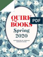 Quirk Books Spring '20 Catalog