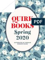 Quirk Books Spring '20 Catalog