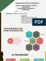 Diferencias Individuales - Grupo 4-2
