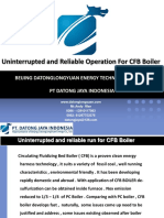 Uninterrupted and Reliable Operation for CFB BOILER
