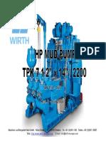 HP Mud Pump TPK 7 1-2x14 - SN 158-160-Rev. 0 - 01.08.08