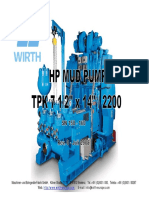 HP Mud Pump TPK 7 1-2x14 - SN 158-160-Rev. 0 - 01.08.08