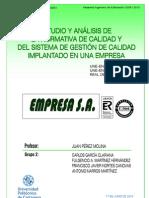 Trabajo Calidad SGC EMPRESA Jun2010
