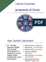 Catholic Essentials the Seven Sacraments