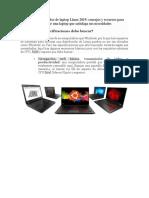 Guía Del Comprador de Laptop Linux 2019