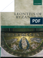 Daley, Brian E. - Leontius of Byzantium Complete Works (2017, OUP)