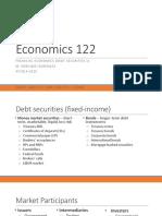 Econ 122 Lecture 5 Debt Securities 1