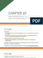 Econ 122 Lecture 18 APT