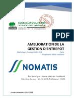 Rapport GESTION DE FLUX