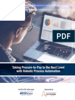 RPA Whitepaper for AP & P2P
