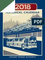 2018 Cta Historical Calendar