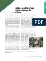 Interpretaciones Historicas Sobre Los Origenes Del Peronismo