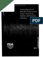 PDA Technical Report No-48 Moist Heat Sterilizer Systems