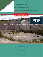 2015-Zonas Críticas Peligros Geológicos Cusco