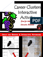 5 - Career Clusters Interactive Activity
