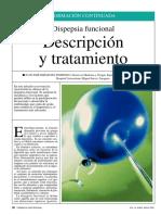 dispepsia funcional descripcion y tratamiento