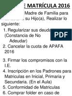 RUTAS DE MATRICULA 2016.docx