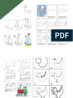 Apredendo a Desenhar - Alguns Desenhos