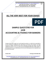 JAIIB AFB Sample Questions by Murugan-Nov 19 Exams