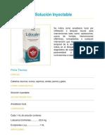 lidocalm