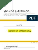 Ybanag Language