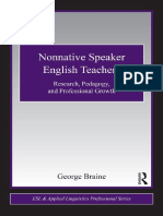 Nonnative Speaker English Teacher