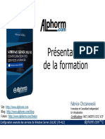 alphorm.com-supoort de la formation Configuration des services avancés de Windows Server 2012 (70-412)