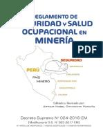 d.s. 024 Reglamento de Seguridad y Salud Ocupacional en Minería