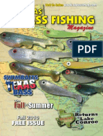 Texas Bass Fishing Mag Fall 2010