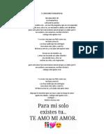 5 Canciones Romanticas