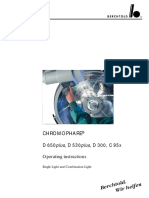 Foco - Berchtold Chromophare D-300,530,650 - User Manual