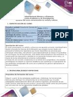Syllabus del curso Comunicación No Verbal y Cultura.