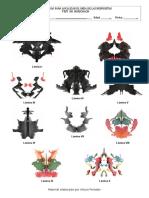Hoja de Localización - Test de Rorscharch 2014