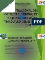 Informe de Gestion Sala Situacional Agosto 2019