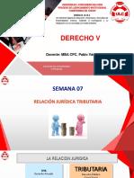 Semana 05.1 - Relacion Juridico Tributaria