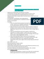 International Organizations Notes (GOVT-262)