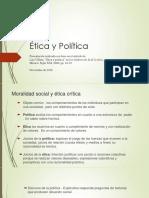 PS-Etica y Politica