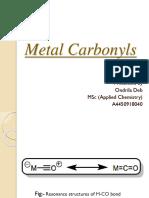 Metal Carbonyls