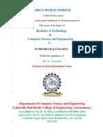 Prudhvi Mini Project