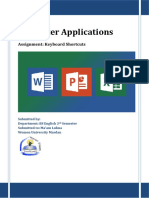 Computer Applications 1
