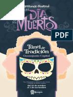 Festival Día de Muertos Guanajuato Capital 2019