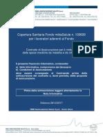 METASALUTE Estratto Del Contratto Di Assicurazione 2018 2019 Piano d p