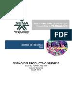 Diseño Del Producto y Servicio.