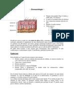 Tema 1. Atención de Enfermería a Pacientes Con Alteraciones Dermatológicas